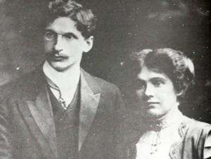 De Valera after marriage, 1910