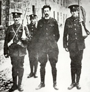 De Valera arrested