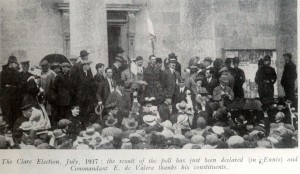 The Clare election, July 1917 with De Valera at center