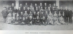 The funeral committee