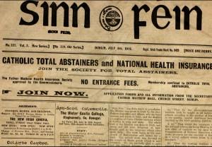 Sinn Fein Paper 1912