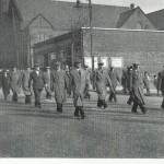 IRA veterans from War of Independence on the Falls Road