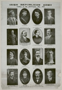 Irish Republican Army leaders 1916 Rising