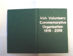 irish volunteers membership card