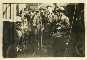 Picture of Volunteers in the GPO