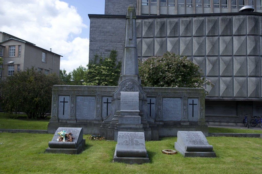 cork IRA executed volunteers  Memorial UCC Cork old jail