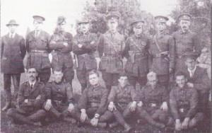 Irish volunteers at Coosan 1915