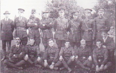 Irish volunteers at Coosan 1915