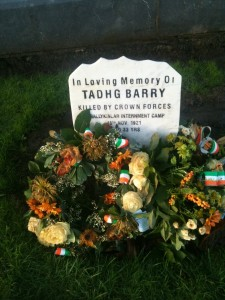 Tadhg Barry Grave