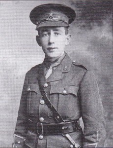 2nd Lieutenant Green of the Staffordshire Regiment. Was at the Battle of Mount Street Bridge.