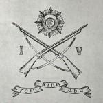 1917 Irish Volunteers postcard