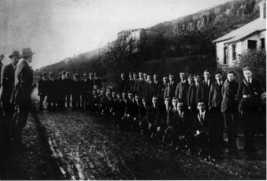 IRA B & C Company Belfast Brigade, Upper Springfield Road, West Belfast, near Hannahstown, August 1921