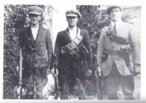 Members of the Cork number 1 Brigade taken during the summer of 1921