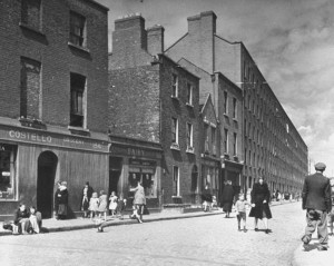 IRA man Phil Shanahan's pub on the corner of Foley Street and Corporation Street since renamed (James Joyce Street).