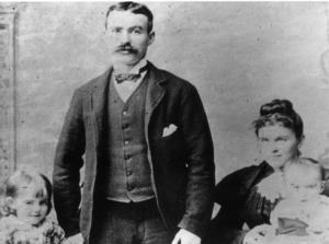 James Connolly and family, 1895