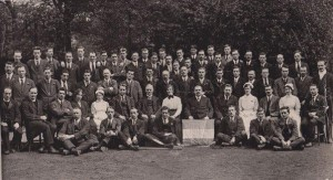 Wormswood scrubs hungerstrikers 1920. Photo taken within the hospital grounds