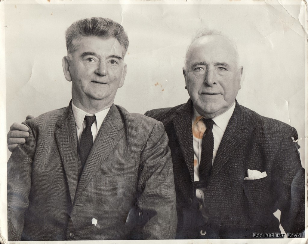 Frank with Tom Barry, 1960's.