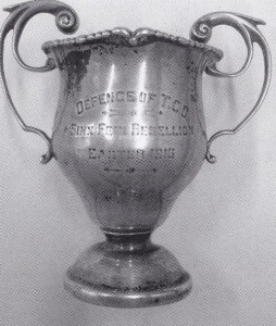 This was an award the boys got for defending Trinity College. Our boys were awarded firing squads.