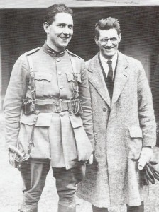 Great photo os Sean McKeon and Sean Moylan, taken during the peace pact. These two great men would go on to fight on opposite sides during the dreadful Civil War