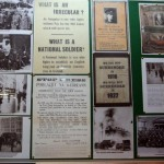 Irish Volunteers Display Grattan Street