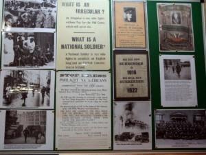 Irish Volunteers Display Grattan Street