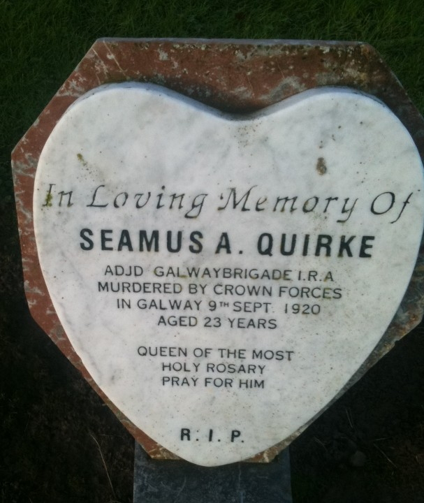 seamus quirke Cork IRA