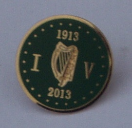 Irish Volunteers 100th Anniversary Badge