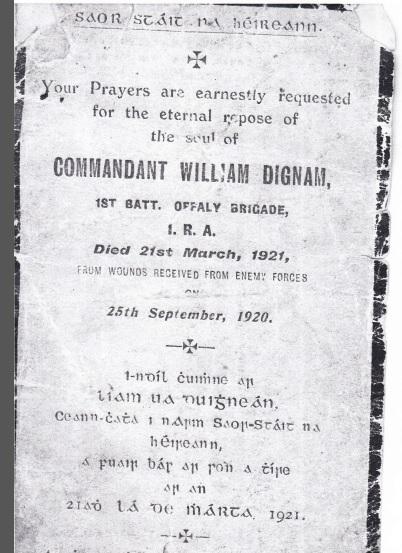 commandant william dignam