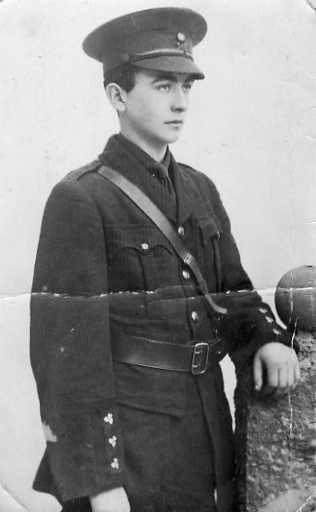 'C.F. G. Co. Galway Batt. Galway Brigade IV'
