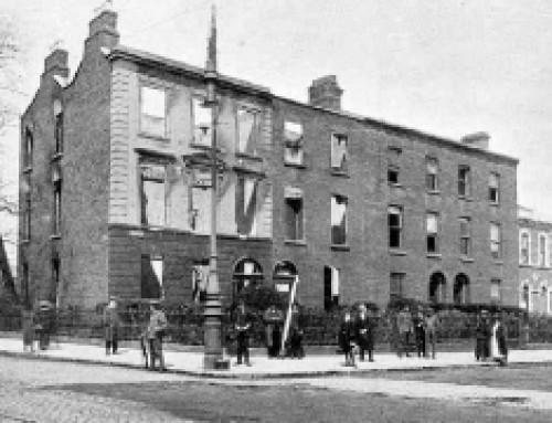 Clanwilliam House, Mount Street Bridge, after the battle