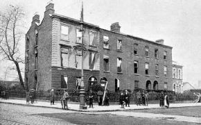Clanwilliam House, Mount Street Bridge, after the battle