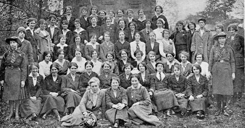 Cumann na mBan ladies, They played an inportant roll in the 1916 Rising
