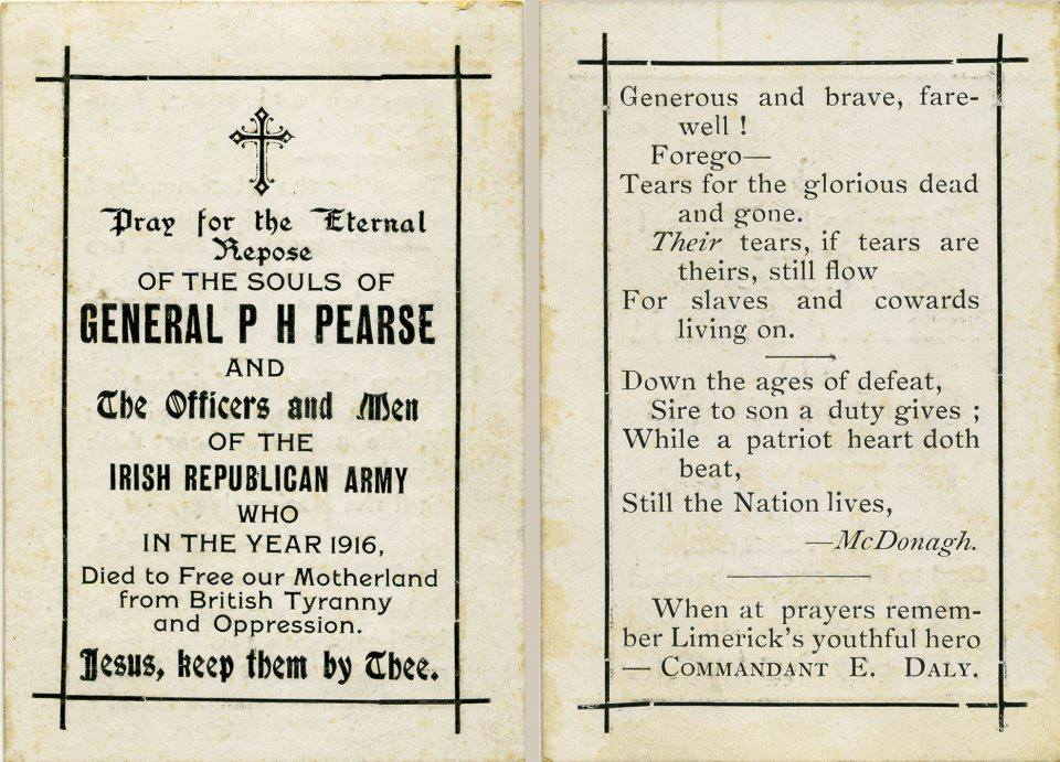 General padraig Pearse & Commandant E Daly