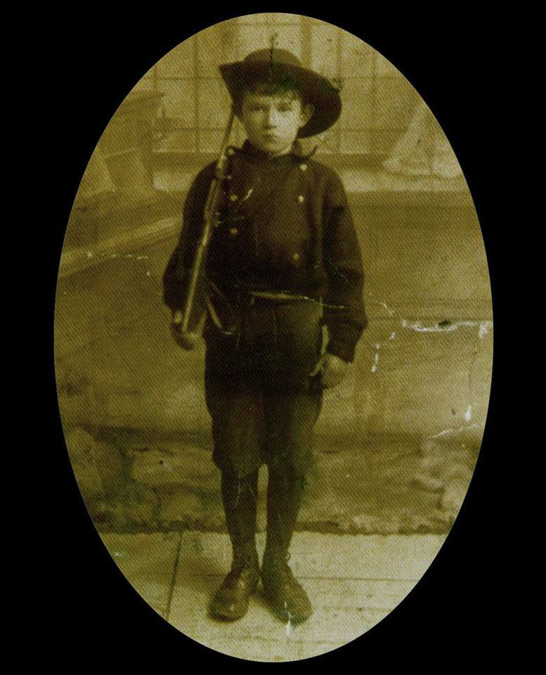 SEAN HEALY – ONE OF THE YOUNGEST MARTYRS OF 1916. JOINED na Fianna Eireann AT THE AGE OF 13