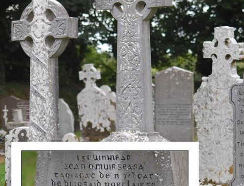 The graves of Sean Morrissey and Vol Declan Horton, IRA