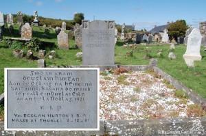 The grave of Vol Declan Horton IRA