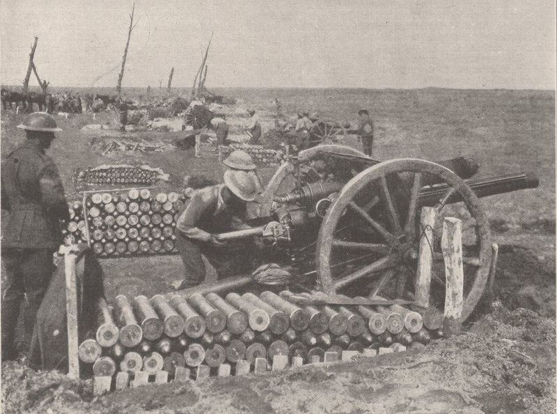 18pounders3rdYpres1917