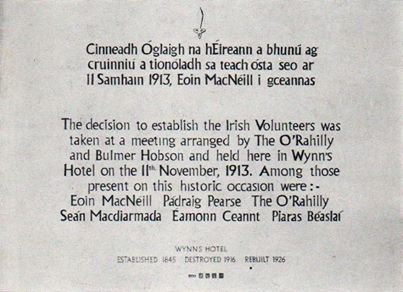 irish volunteers prov committee