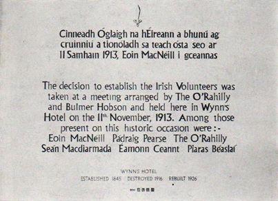 irish volunteers prov committee