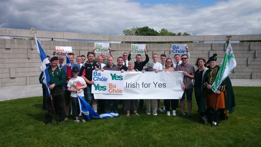 Irish for Yes at Bannockburn