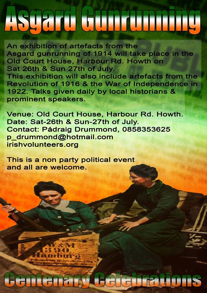 howth gun running commemoration