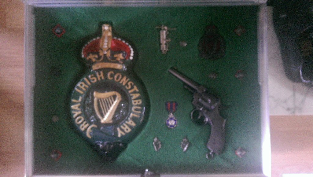 royal irish constabulary kilmallock barracks plate