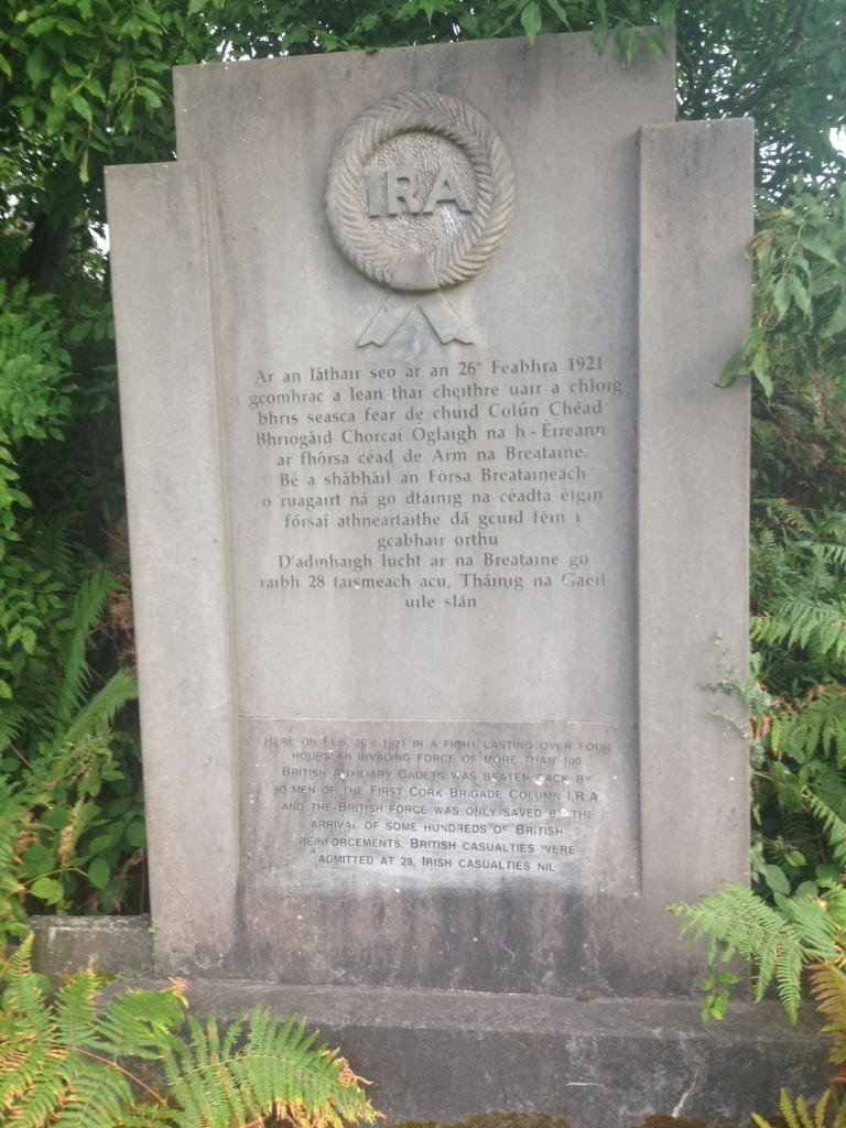 cork IRA 1 Brigade Monument