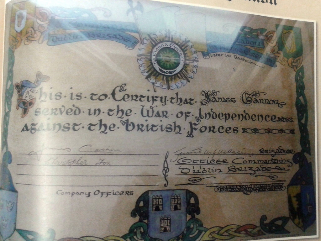 Dublin Brigade Fianna James gannon