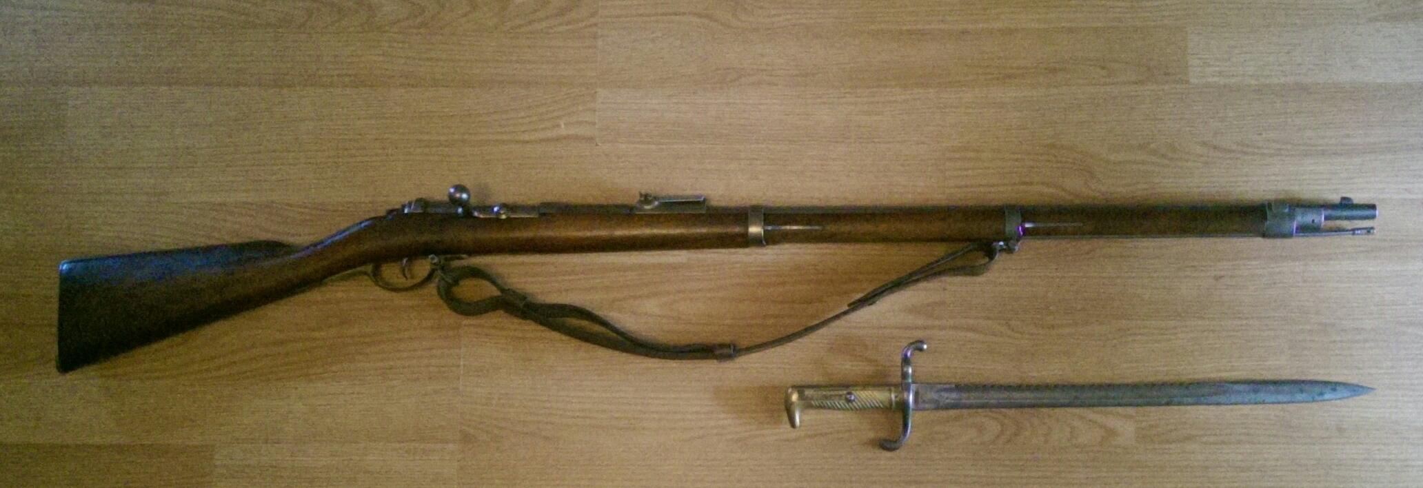 German Mauser 1871 Infantry Gewehr from the Asgard