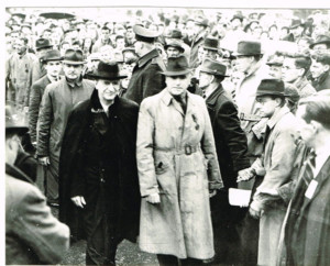 Frank Busteed and Eamonn De Valera