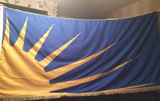 Old Fianna Eireann Flag