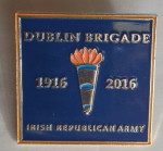1916 rising dublin badge 2