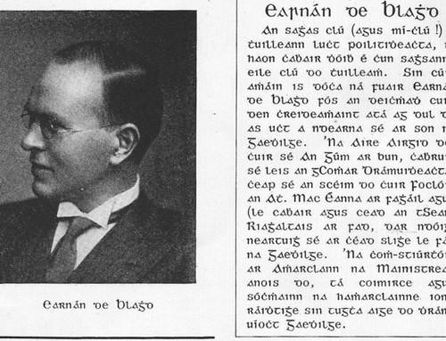 Ernest Blythe Irish Revolutionary-Obituary 1975