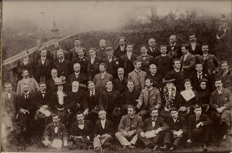 MEETING OF THE GAELIC LEAGUE ROTUNDA DUBLIN 1900